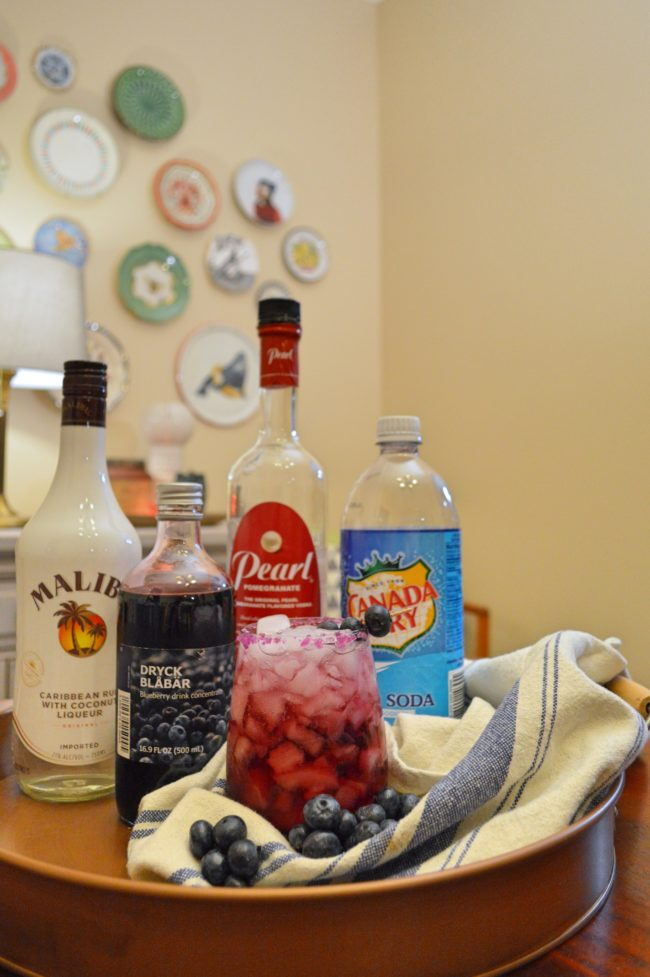 Summer Cocktail: The Coco-Berry Fizz