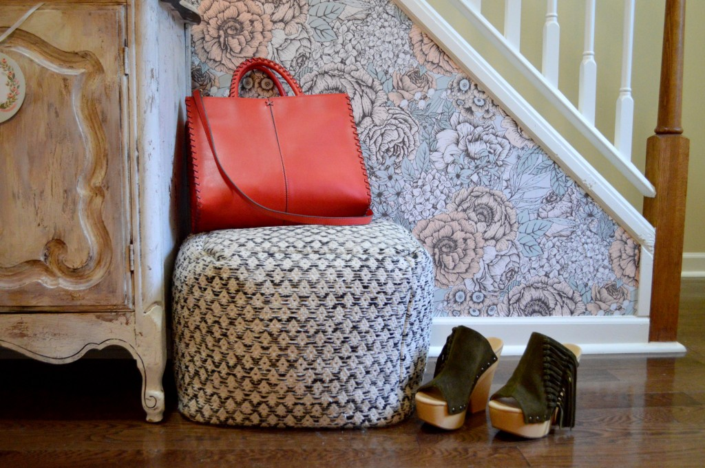 Oh Julia Ann Walls Need Love Removable Wallpaper Floral Home Interior Design Stairs Shabby Chic Vintage House (6)