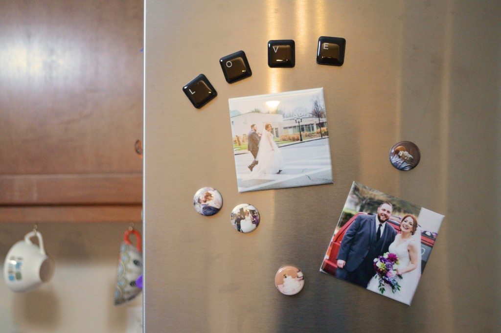 Oh Julia Ann - What to do with my wedding photos - crafts and projects diy scrapbook photo book magnets decor (2)