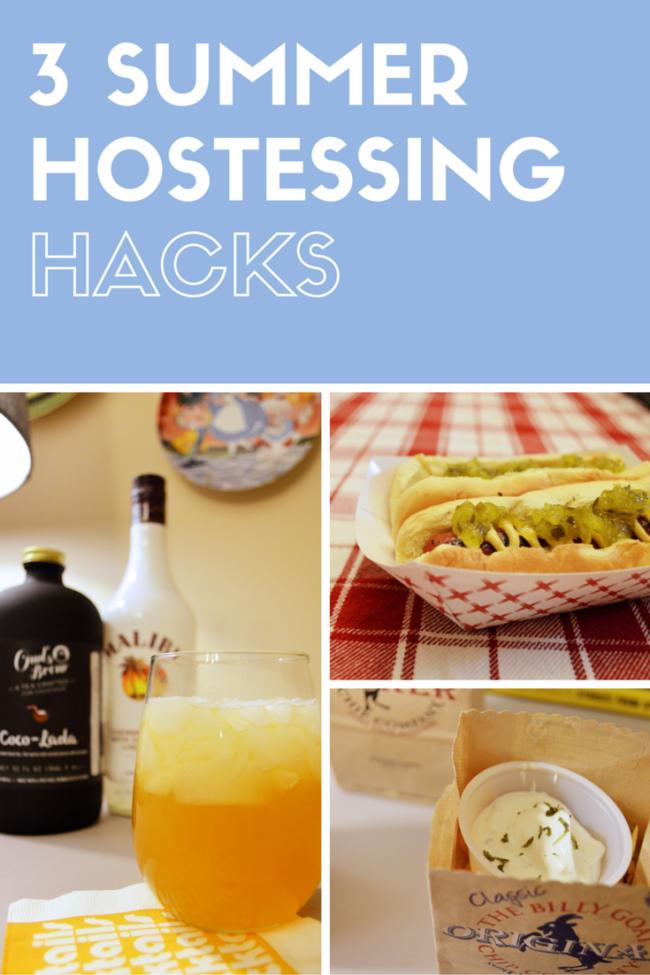 3 Summer Hostessing Hacks