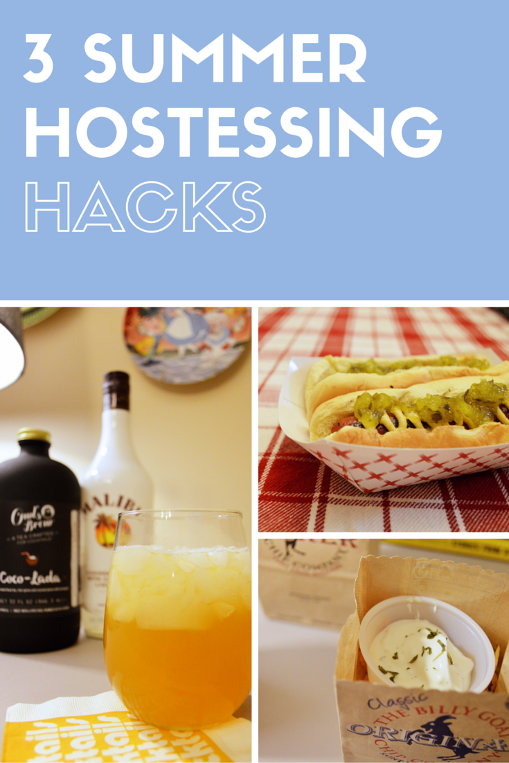 3 SUMMER HOSTESSING HACKS