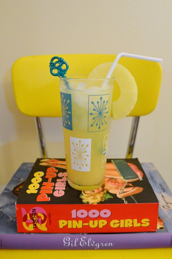 National Rum Day + Pineapple Rum Crush Recipe