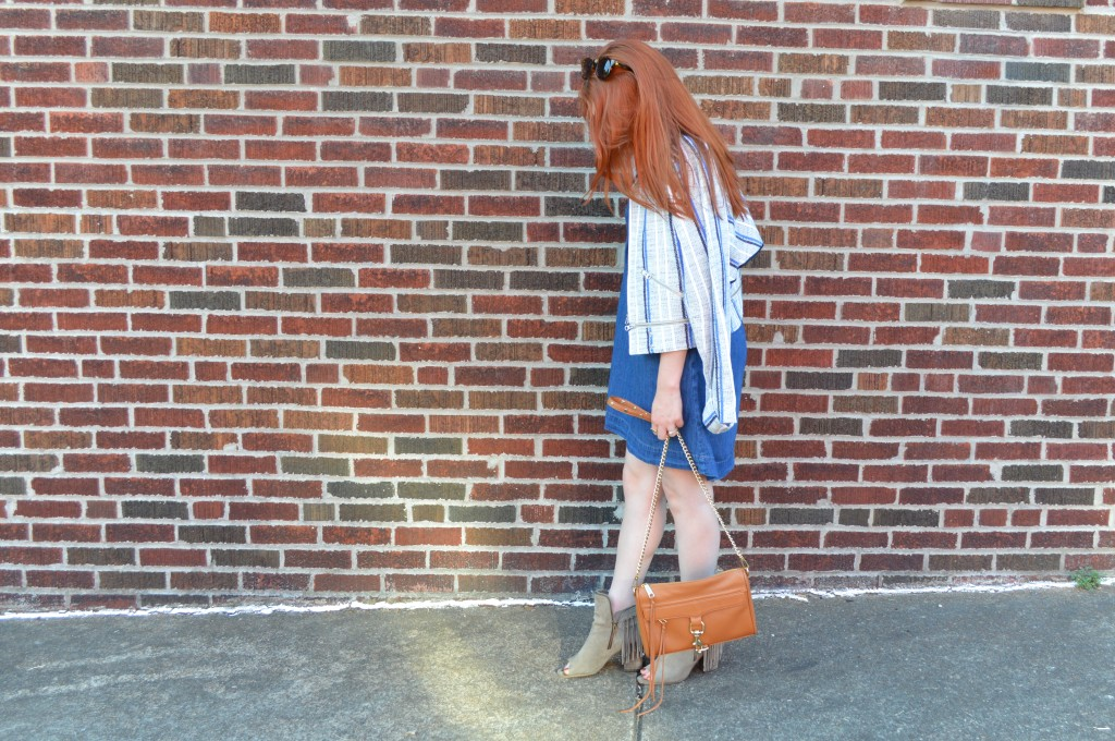 Rebecca Minkoff MAC Crossbosy Purse and Striped Jacket Summer Outfit - Oh Julia Ann (4)