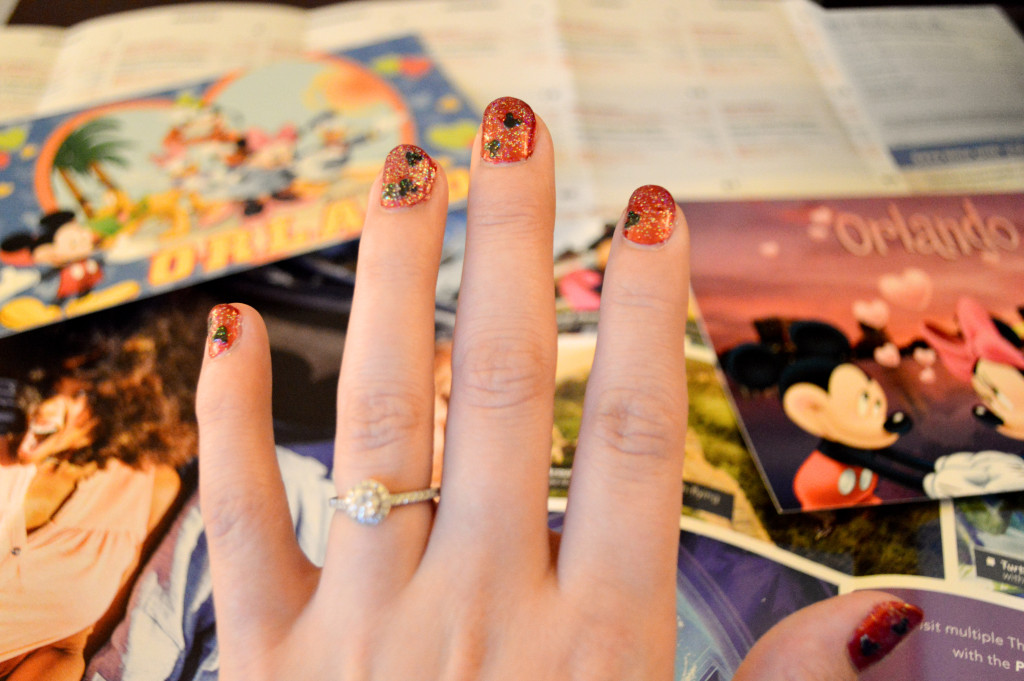 Disney DIY: Easy Mickey Manicure