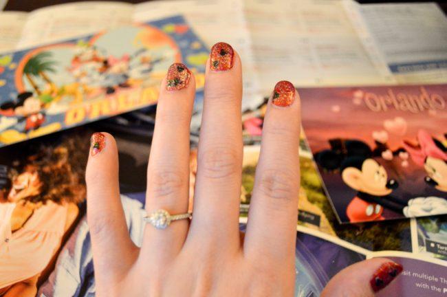 Disney DIY: Easy Mickey Manicure