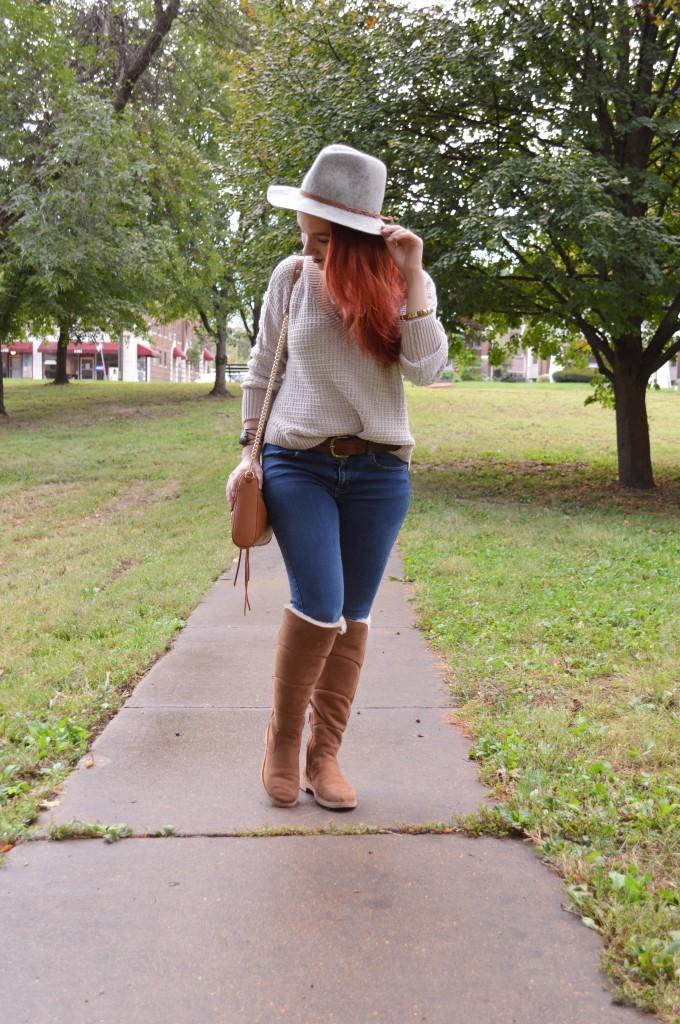 UGG mini skinny jeans