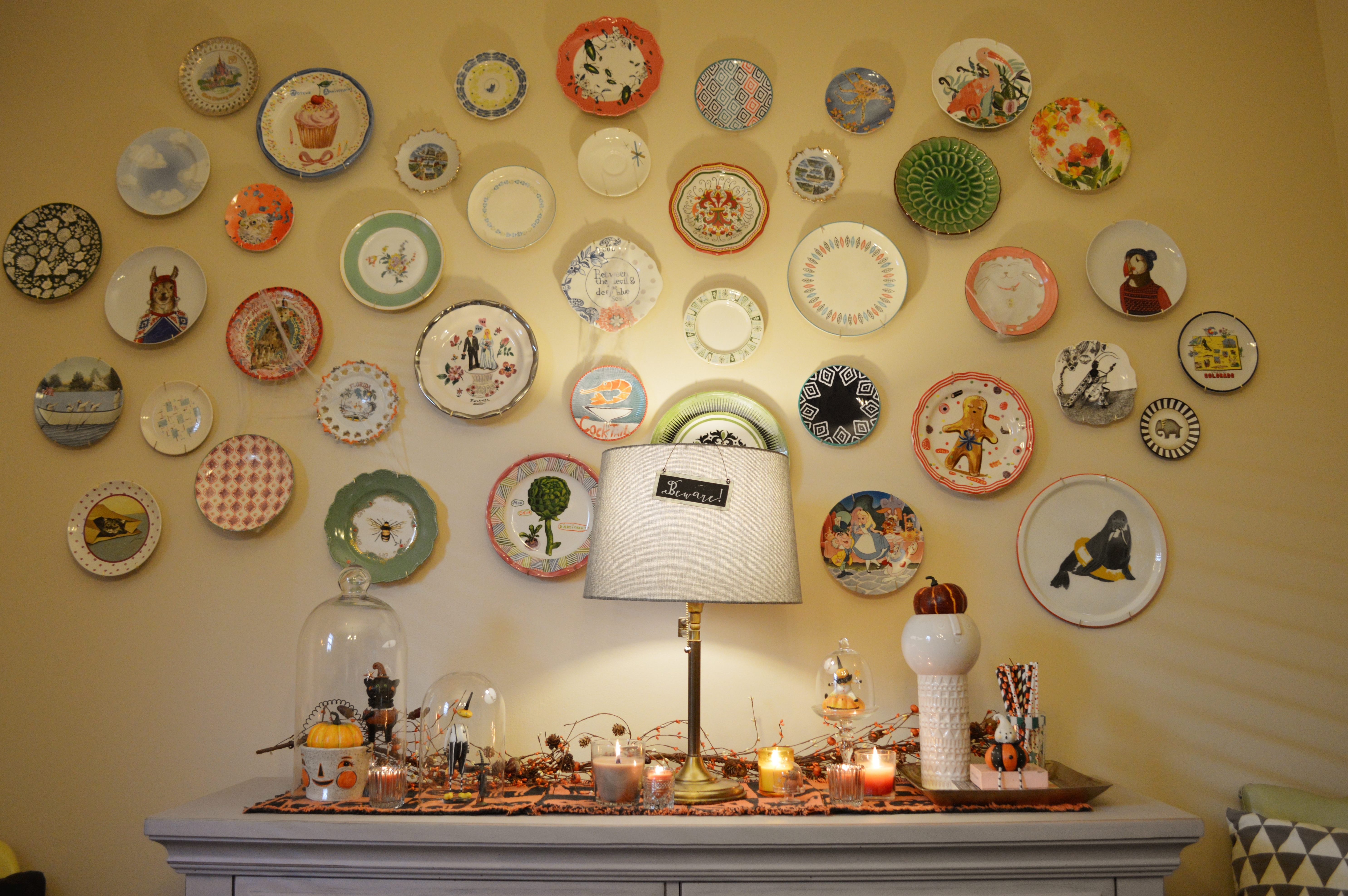 Pretty Pumpkins // Halloween Dining Room Decor with Gordmans – Oh ...