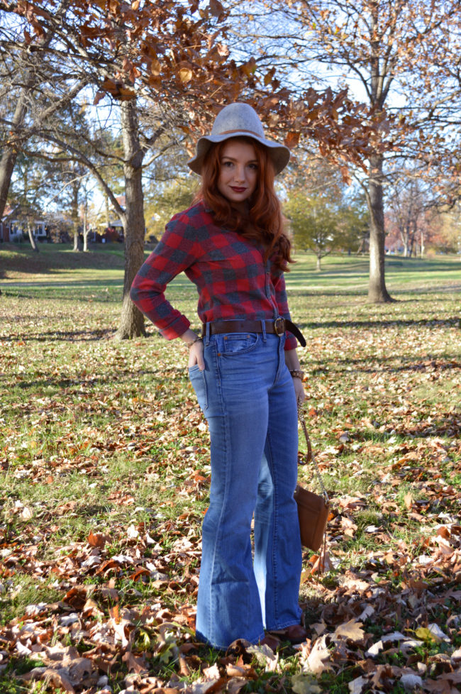 Flare Jeans for Fall