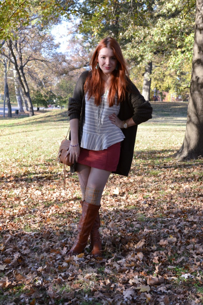 fall-outfit-cord-skirt-with-thigh-high-socks-and-peplum-blouse-free-people-and-anthropologie-oh-julia-ann-2