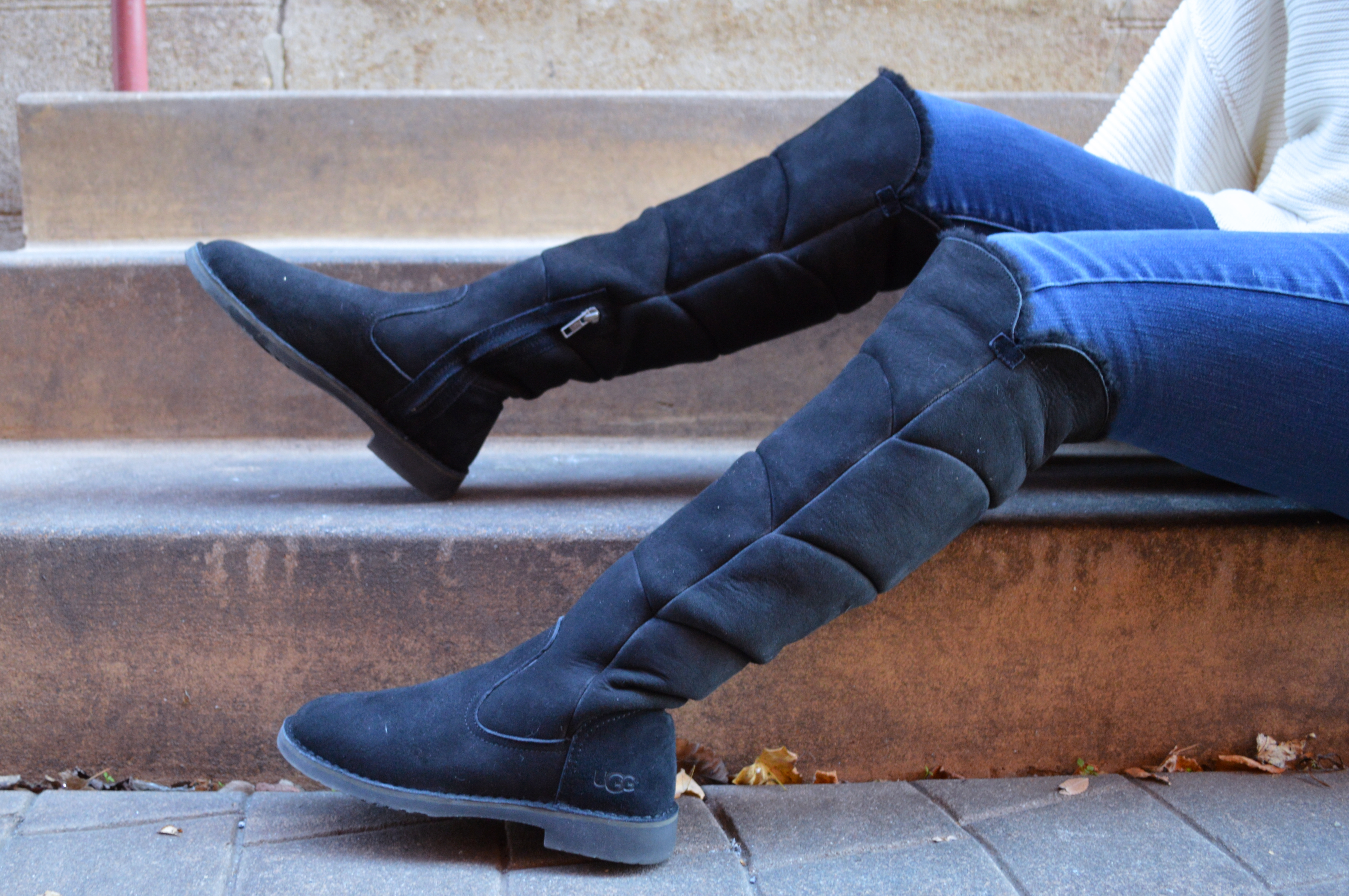 c0a94d70f19 Dressing for the Holidays: Cozy and Casual in UGG Boots – Oh, Julia Ann