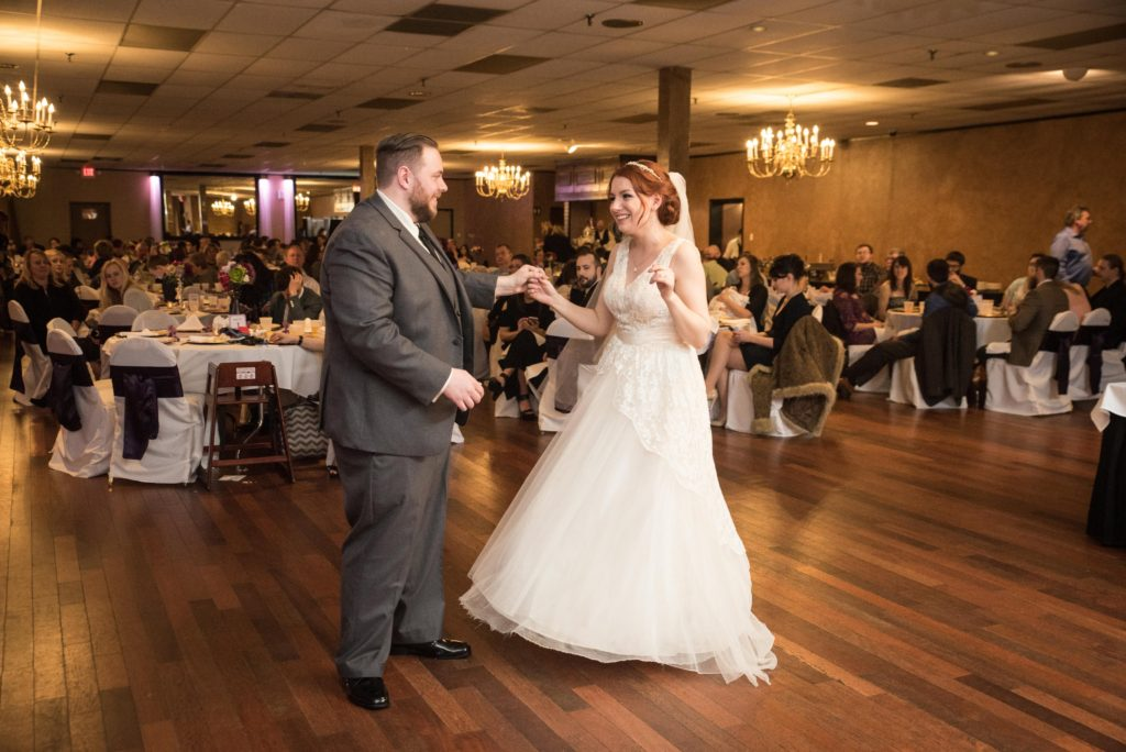 Wedding Wednesday: Inside Our DIY Budget Wedding Reception