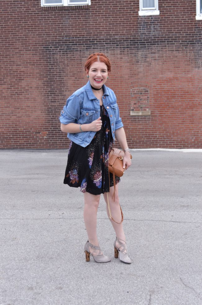 Denim + Suede | Spring Free People Outfit