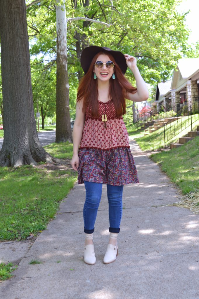 Budget Boho | Here Today Haul + Outfit