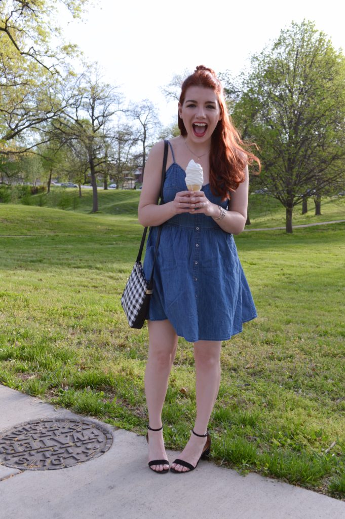 Ice Cream Cone Fail // Cute Summer Dress