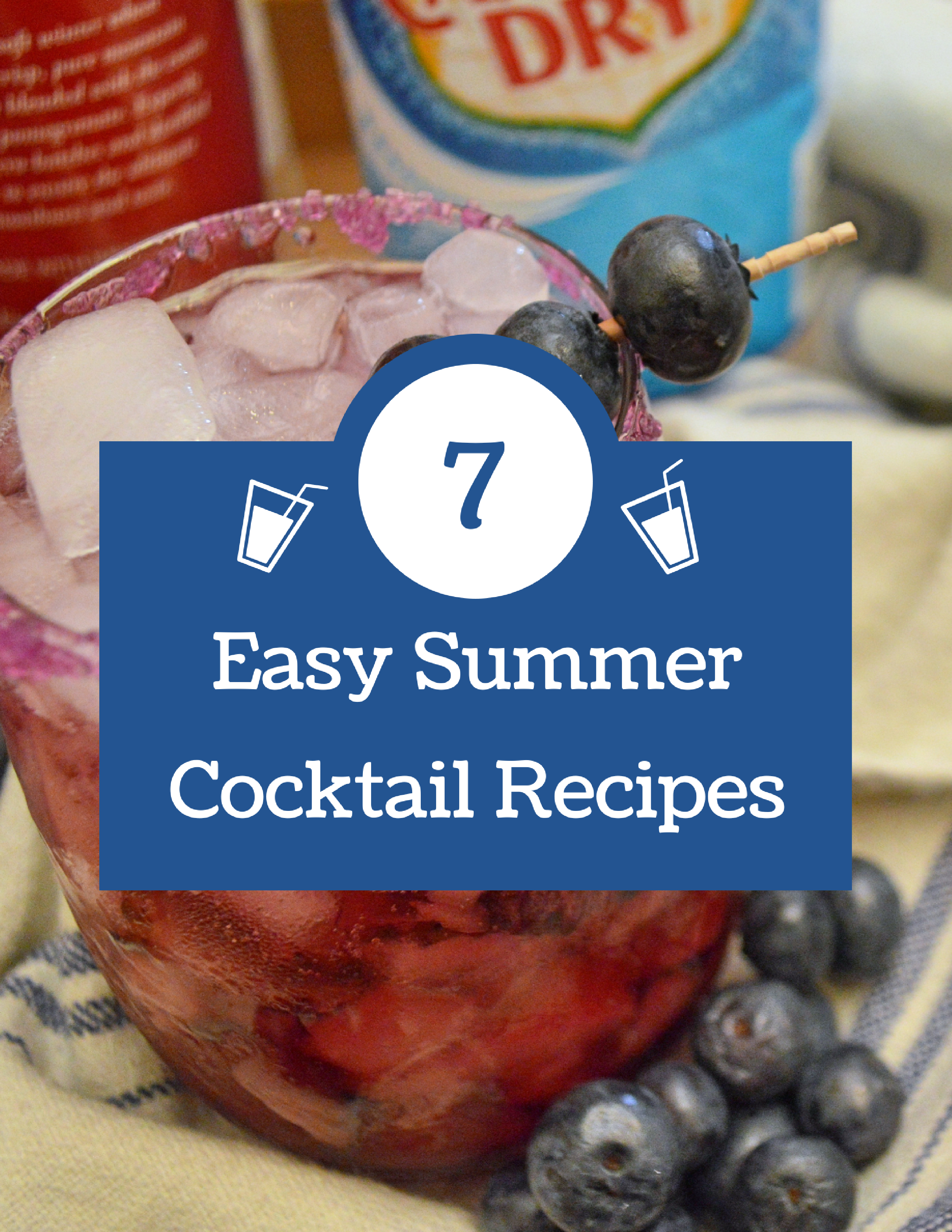 7 Easy Summer Cocktails You Can Make Tonight Oh Julia Ann