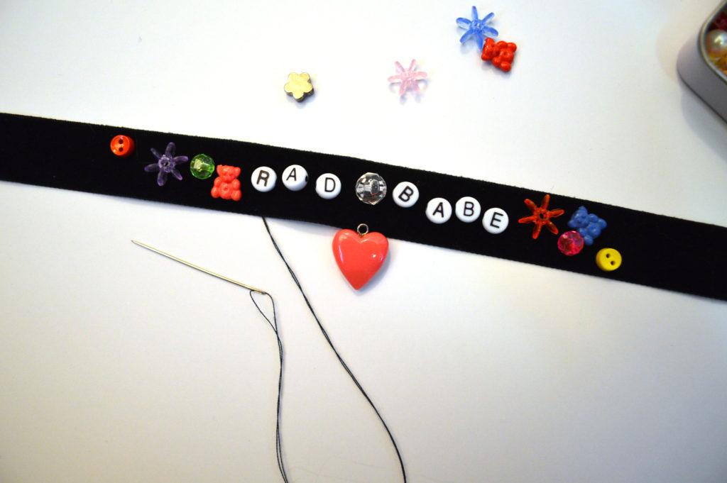 $5 DIY   Knock-Off Anthropologie Necklace