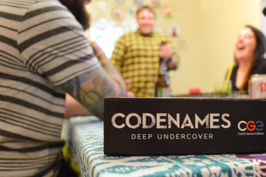 Game Night Review | Codenames: Deep Undercover