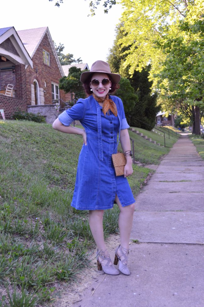 Blue Jean Baby | My Favorite Denim Shirtdress Styled for Summer