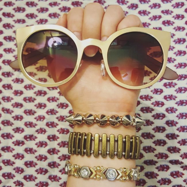Metallic Arm Party | 3 DIY Mixed-Metals Bracelets You Can Make In 15 Minutes