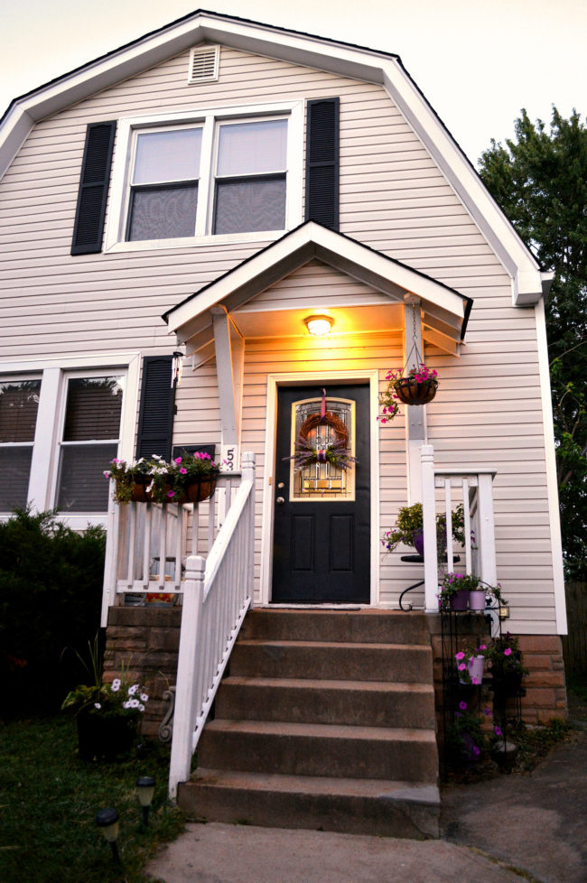 Front Porch Makeover | How We Easily Increased Our Curb Appeal