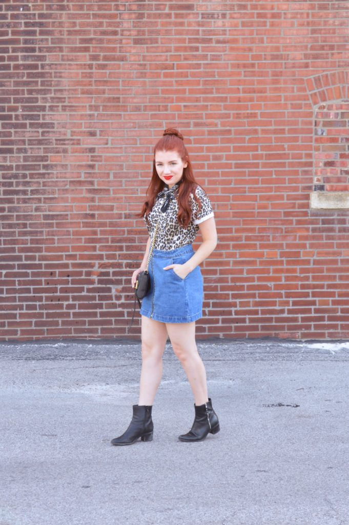 1990s-Inspired Denim Mini Skirt (and Five Reasons I Love It!)