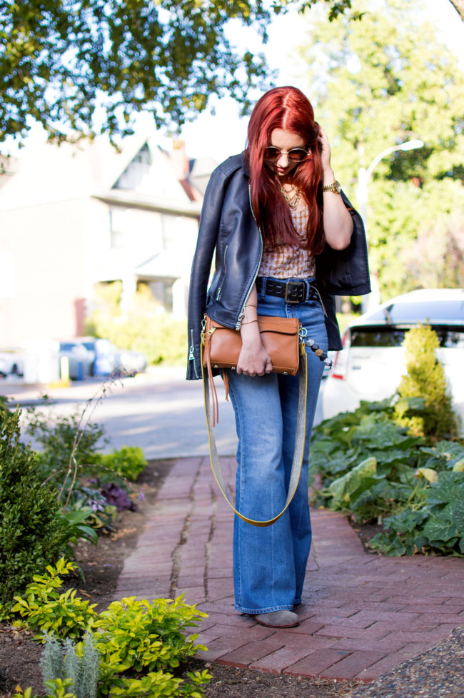 Fall in Flared Jeans
