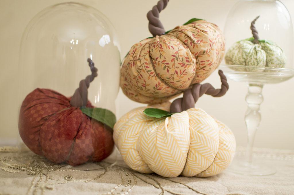 So Spooky! Easy DIY Fabric Pumpkins