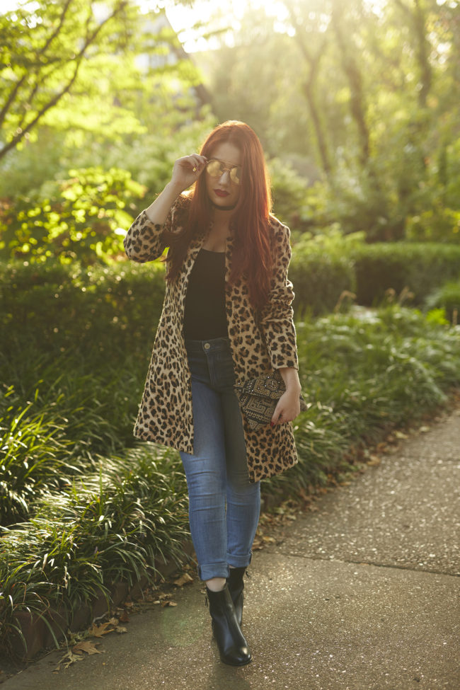 15 Leopard Coats + Jackets for Fall