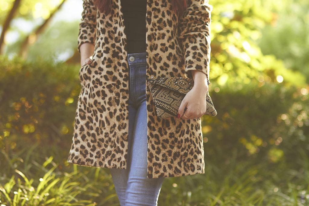 Early Fall Fashion | Leopard Coat