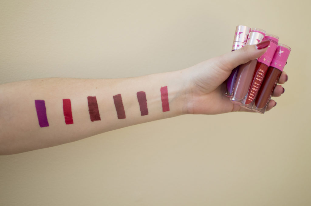Pucker Up! | My Jeffree Star Velour Liquid Lipstick Picks