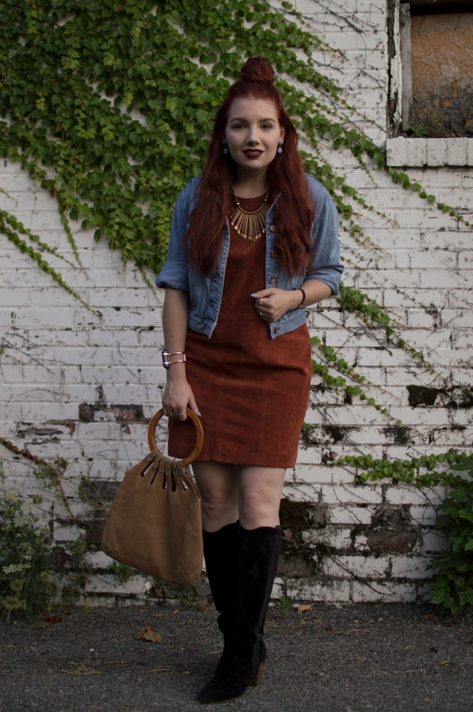 As Much Suede As Possible | Wearing All The Suede for Fall