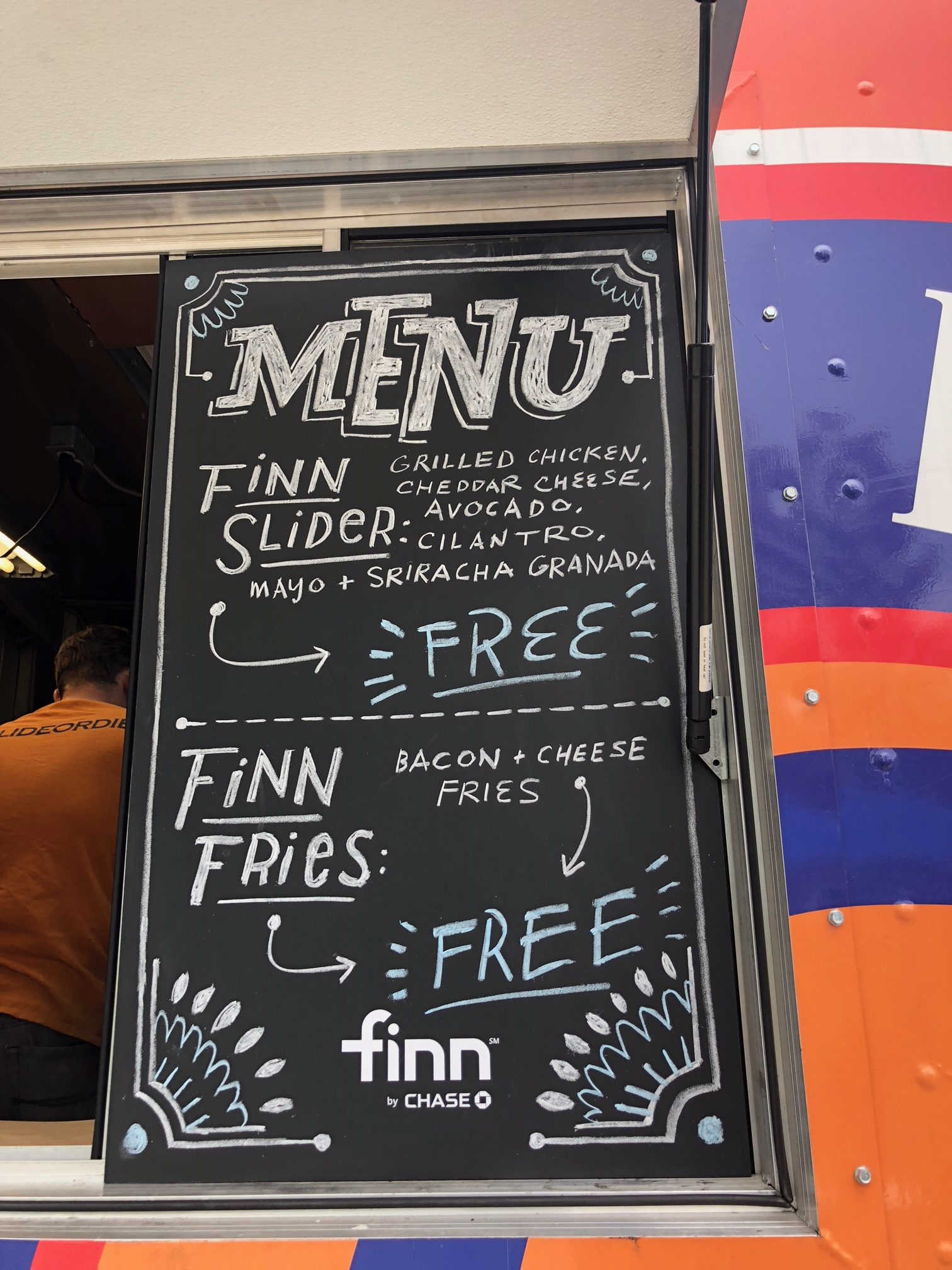Finn by Chase Launches in St  Louis with Free 'Food with