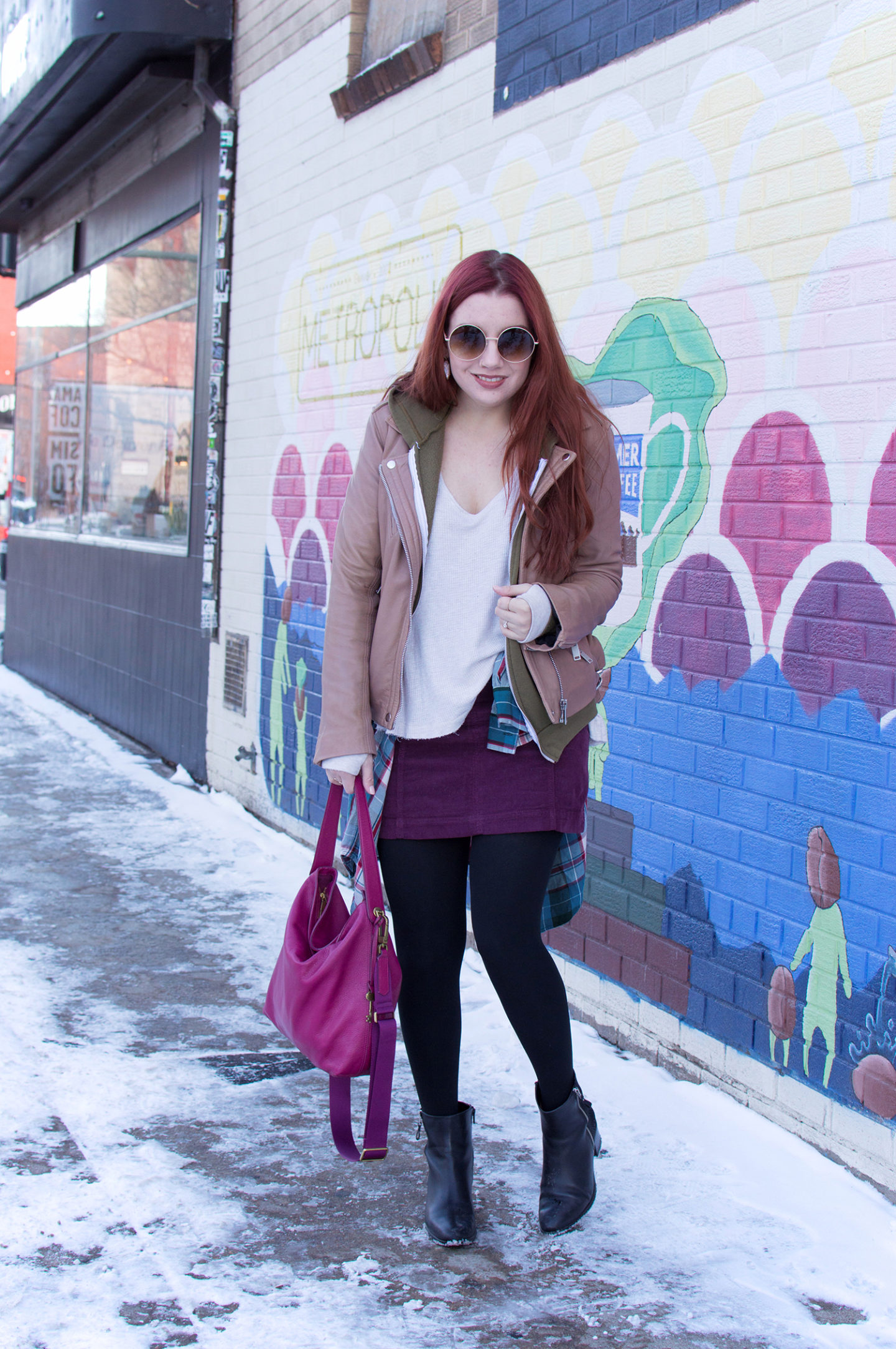 Skirts, South Broadway & Snow