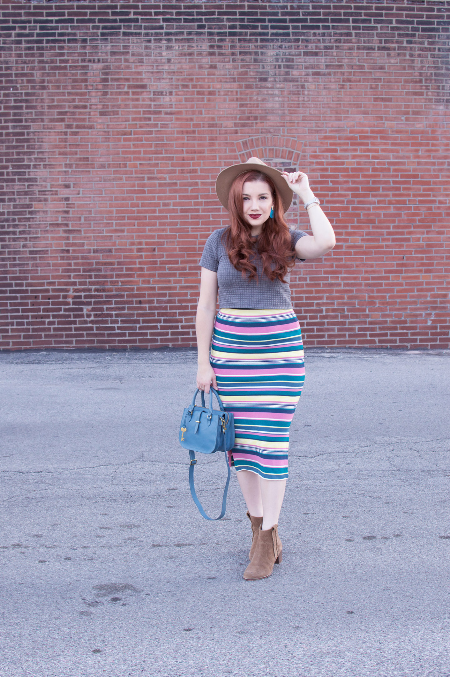 Rainbow Stripes for Spring