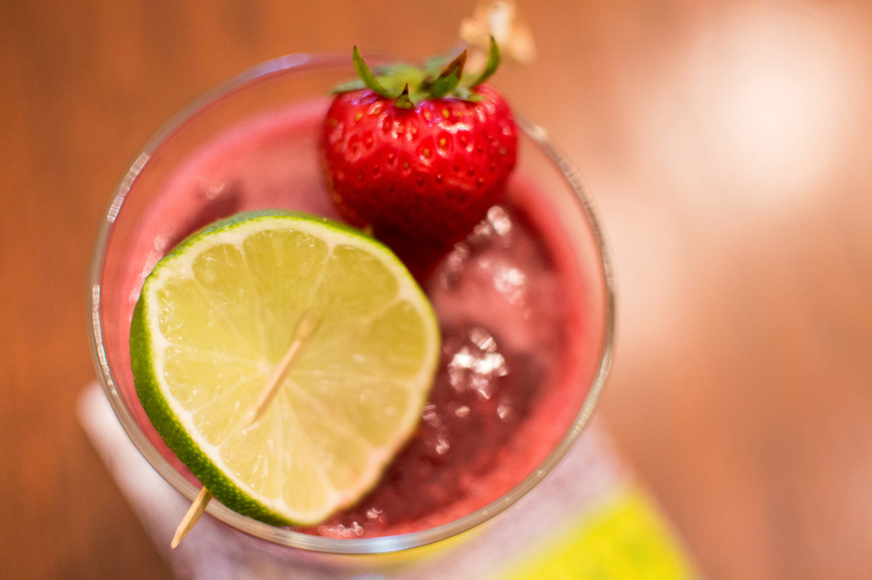 Cheers to Frozen Cocktails | Green Apple Berry Cooler Recipe