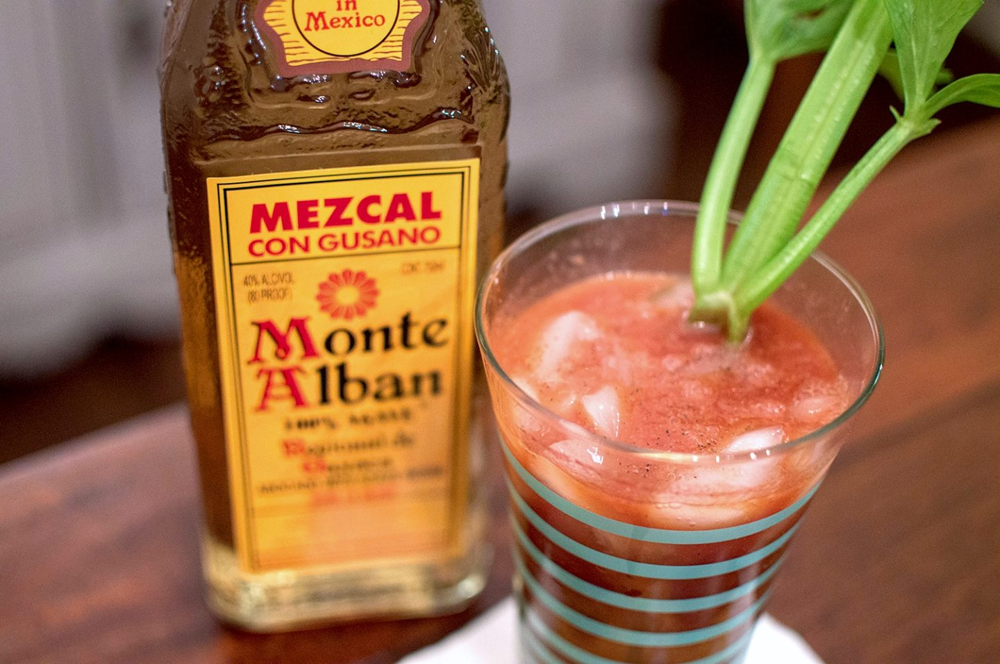 Where There's Smoke, There's Fire | Salsa Mezcal Bloody Mary Recipe