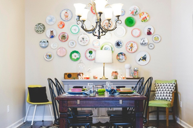 Decorating with Dishes: 18 Homes with Picture-Perfect Plate Walls