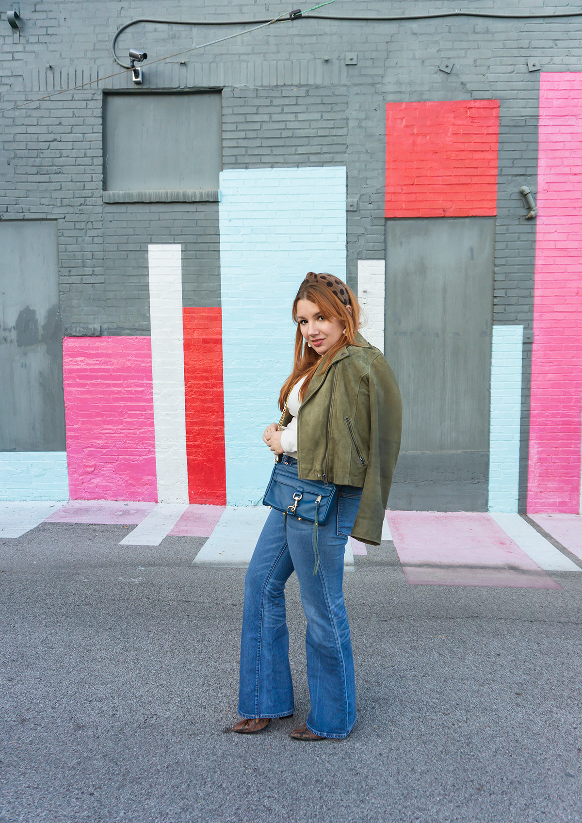 One Turtleneck Three Ways: Flared Jeans for Winter