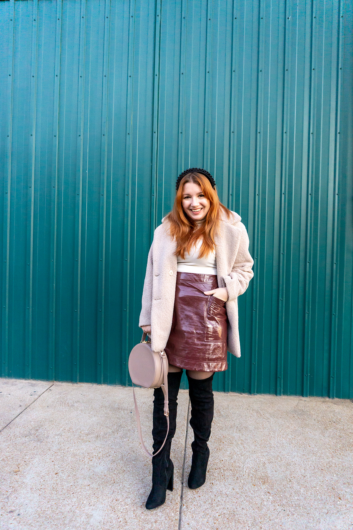 One Turtleneck Three Ways: Going Out in Pleather and Thigh-High Boots